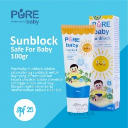 Pure Baby - Sunblock - 100 Gram