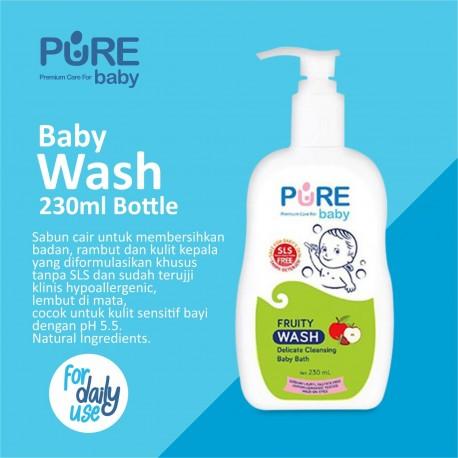 Pure Baby - Wash Fruity Bottle - 230 ML