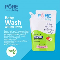 Pure Baby - Wash Fruity Refill - 450 ML