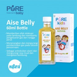 Pure kids - Aise Belly Natural - Bottle 60 ML