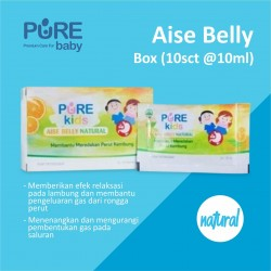 Pure Kids - Aise Belly Natural - Box (10 sachet @ 10 ML)
