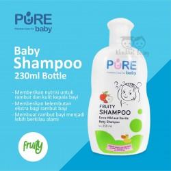 Pure Baby - Shampoo Fruity Bottle - 230 ML