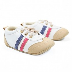 Helomici - Prewalker Shoes JPN Sneakers - Cream