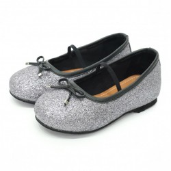 Helomici - Toddler Shoes Ballerina - Gray