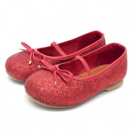 Helomici - Toddler Shoes Ballerina - Red