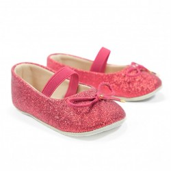 Helomici - Prewalker Shoes Ballerina - Red