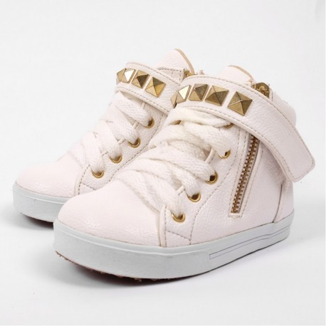 Helomici - Toddler Shoes Little SWAG - White