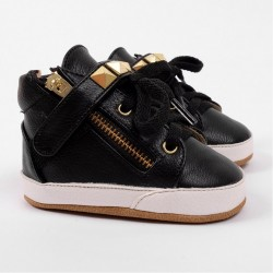 Helomici - Prewalker Shoes Little SWAG - Black