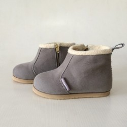 Hellomici - Toddler Shoes Winter Boots - Gray