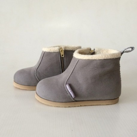 Helomici - Toddler Shoes Winter Boots - Gray