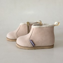 Hellomici - Toddler Shoes Winter Boots - Cream