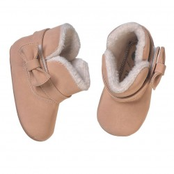 Helomici - Prewalker Shoes Winter Boots - Cream