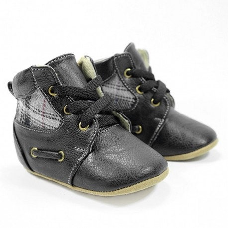 Helomici - Prewalker Shoes Russell Boots - Black