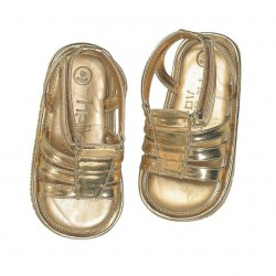 Helomici - Prewalker Shoes Strap Sandal - Gold