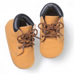 Helomici - Prewalker Worker Boots Tan