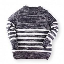 Helomici - Knitwear Stripe - Navy