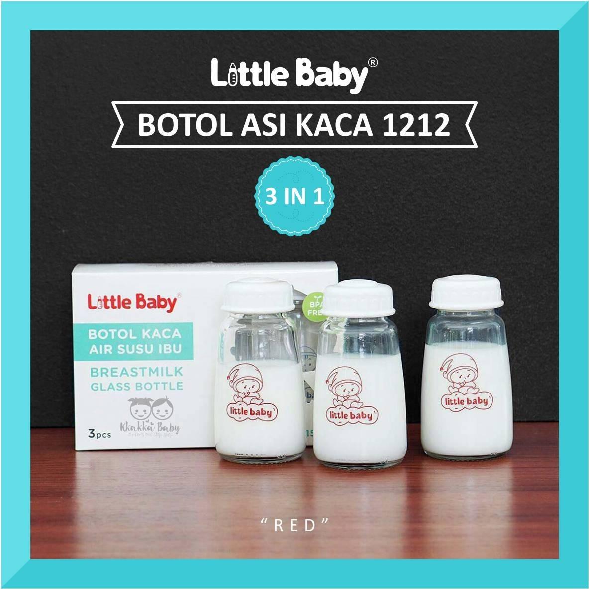 Little Baby Botol Asi Kaca 1212 Kkakkakids Kkakka Bebe Dot Bayi Blister Isi 3 Pcs Size M Kkakkababy