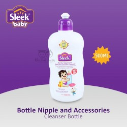 Sleek Baby - Bottle Nipple and Accessories Cleanser Bottle - 500ML