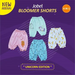 Jobel - Bloomer Shorts (4 pcs/pack) - Unicorn Edition