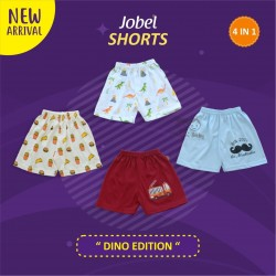 Jobel - Shorts (4 pcs/pack) - Dino Edition