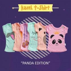 Kazel - Tshirt Girl (6 pcs/Pack) - Panda Edition