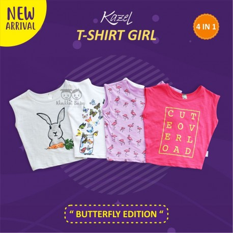 Kazel - Tshirt Girl (4 pcs/Pack) - Butterfly Edition
