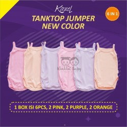 Kazel - Tanktop Jumper Girl (6 pcs/Pack) - New Colour