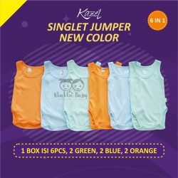 Kazel - Singlet Jumper Unisex (6 pcs/Pack) - New Colour