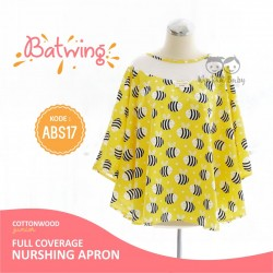 Cottonwood - Full coverage Nursing Apron (Batwing) - ABS 17