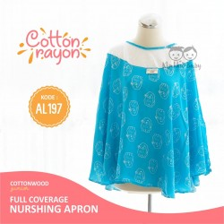 Cottonwood - Full coverage Nursing Apron (Japanese Cotton) - AL 197