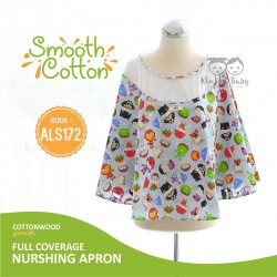 Cottonwood - Full coverage Nursing Apron (Smooth Cotton) - ALS 172