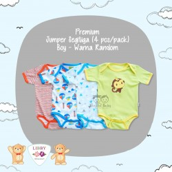 Libby Premium - Jumper Segitiga (4 pcs/pack) - Boy - 6-9 Month