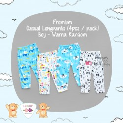 Libby Premium - Casual Longpants (4pcs / pack) - Boy - 3-6 Month