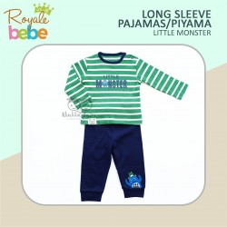 Royale Bebe - Long Sleeve Pajamas / Piyama - Little monster