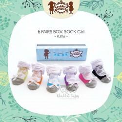 Petite Mimi - 6Pairs Box Sock Girls - Ruffle