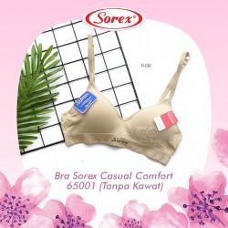 Sorex - Bra Sorex Casual Comfort 65001 (Tanpa Kawat) - Nude