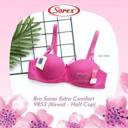 Sorex - Bra Sorex Extra Comfort 9853 (Kawat - Half Cup) - Hot Pink