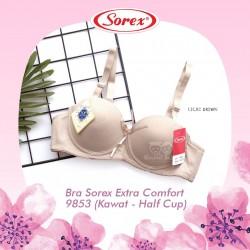 Sorex - Bra Sorex Extra Comfort 9853 (Kawat - Half Cup) - Light Brown