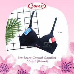Sorex - Bra Sorex Casual Comfort 65002 (Kawat) - Black