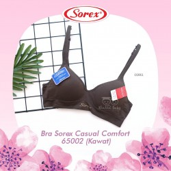 Sorex - Bra Sorex Casual Comfort 65002 (Kawat) - Coffee