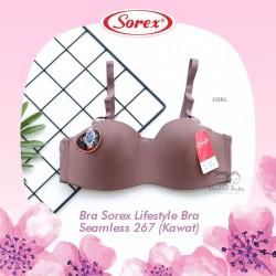 Sorex - Bra Sorex Lifestyle Bra Seamless 267 (Kawat) - Coffee