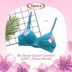 Sorex - Bra Sorex Casual Comfort 65001 (Tanpa Kawat) - Tosca