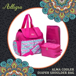 Allegra - Alma Cooler Diaper Shoulder Bag