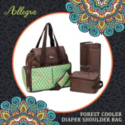 Allegra - Forest Cooler Diaper Shoulder Bag