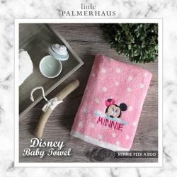 Little Palmerhaus - Disney Baby Towel - Minnie Peek a Boo