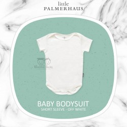 Little Palmerhaus - Baby Bodysuit Short Sleeve (Jumper) - Off White