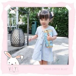 Veyl Kids - Louis Dress Blue