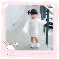 Veyl Kids - Hillary Dress - Cream