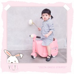 Veyl - Zetta Dress - Stripes