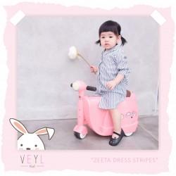 Veyl - Zetta Dress - Stripes